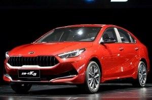 KIA представила китайскую версию седана K3