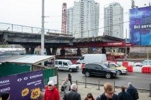 Шулявский мост разбирают на куски