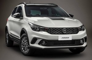 Fiat сделал из хэтчбека Argo кроссоверную версию