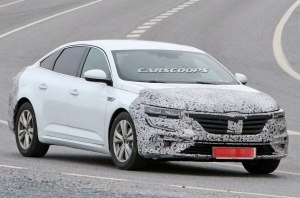 Обновленный седан Renault Talisman готовится к выходу