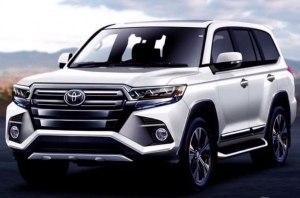Новый Toyota Land Cruiser 300 рассекретили до презентации