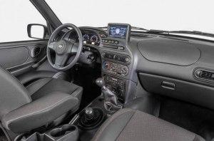 Внедорожник Chevrolet Niva получила мультимедийную систему на Windows