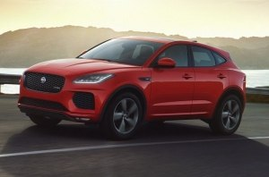 Кроссовер Jaguar E-Pace теперь доступен в особой флагманской версии Checkered Flag