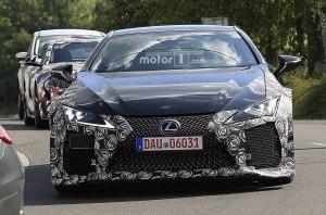 Подробности о высокопроизводительной версии купе Lexus LC