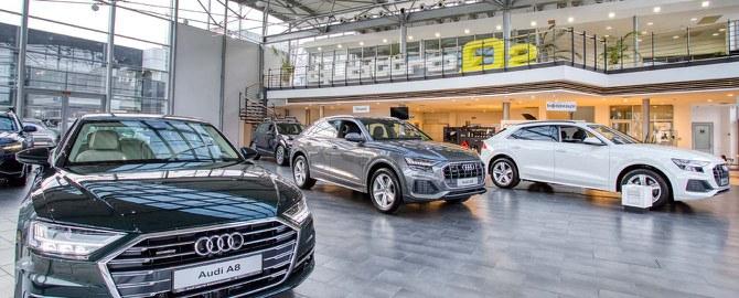 Официальный дилер Audi в Москве